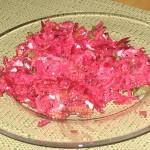 Ensalada fresca de Remolacha y Yogurt