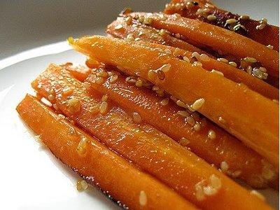 Receta de zanahorias especiales for Cocinar zanahorias