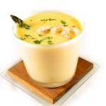 Una sopa deliciosa.