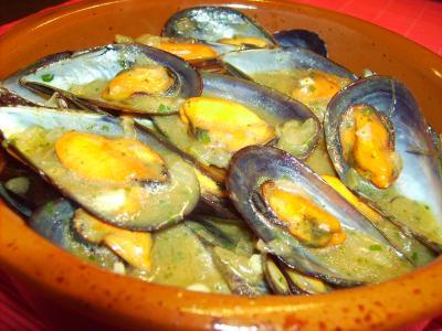 Receta de mejillones a la provenzal for Cocinar mejillones en salsa
