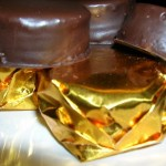 Alfajores de chocolate para regalarle a Mamá