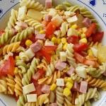 Una ensalada muy fresca.