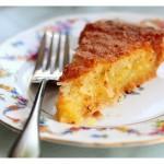 Un delicioso pastel.