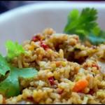 Un arroz muy sabroso.