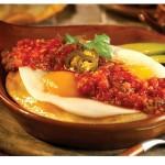 Deliciosa preparación con huevos.