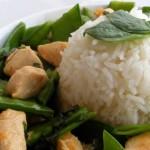 Distintos tipos de arroz.