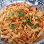 Fácil receta con Pesto.