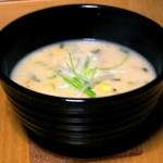 Una deliciosa sopa.