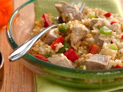 Receta f cil arroz con at n - Cocina para principiantes ...