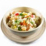 Una ensalada de arroz.