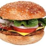 Deliciosa hamburguesa.