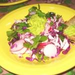 Una ensalada fresca.