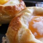 Delicia de huevos.
