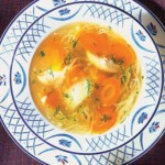 Sopa de zanahorias.