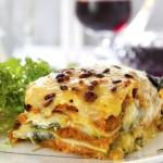 Deliciosa lasagna.