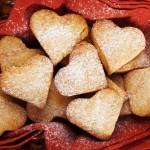 Unas galletas románticas.