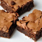 Fáciles brownies.