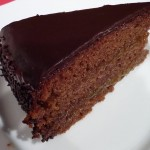 Una torta especial.