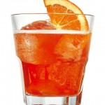 Una deliciosa soda de naranja.