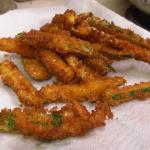 Calabacines fritos.