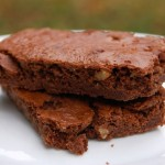 Fáciles brownies.