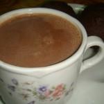 Delicia de chocolate.