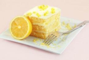 Postre de limón con leche condensada